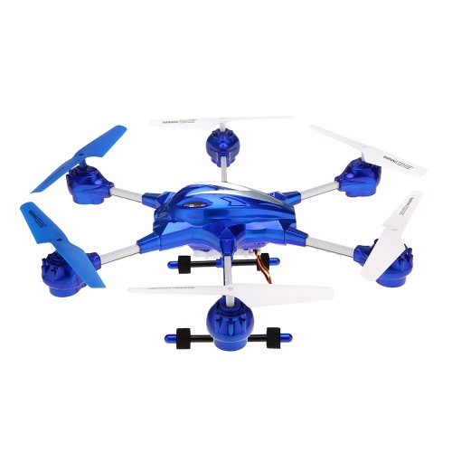 HUAJUN W609-10 4.5CH 2.4G with Six Axis Gyro 360° Rotating RTF RC Hexacopter Drone UFO?Middle Size?With 0.3MP CameraToys &amp; Hobbies<br>HUAJUN W609-10 4.5CH 2.4G with Six Axis Gyro 360° Rotating RTF RC Hexacopter Drone UFO?Middle Size?With 0.3MP Camera<br>