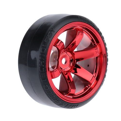 4Pcs/Set 1/10 Drift Car Tires Hard Tyre for Traxxas HSP Tamiya HPI Kyosho On-Road Drifting CarToys &amp; Hobbies<br>4Pcs/Set 1/10 Drift Car Tires Hard Tyre for Traxxas HSP Tamiya HPI Kyosho On-Road Drifting Car<br>