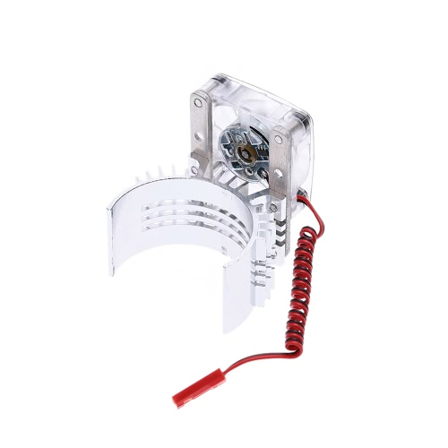 Motor Heat Sink With Cooling Fan for 1/10 RC Racing CarToys &amp; Hobbies<br>Motor Heat Sink With Cooling Fan for 1/10 RC Racing Car<br>