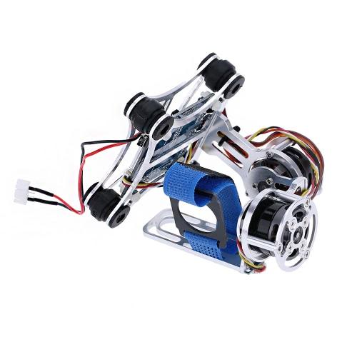 GoolRC 2D Light Weight Silver Brushless Motor Gimbal for DJI Phantom 1 2 3+ Aerial PhotographyToys &amp; Hobbies<br>GoolRC 2D Light Weight Silver Brushless Motor Gimbal for DJI Phantom 1 2 3+ Aerial Photography<br>