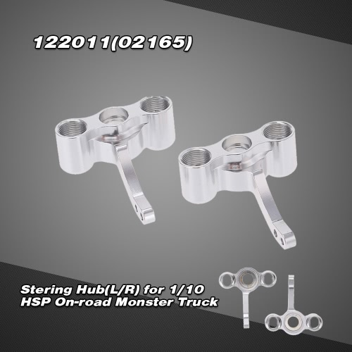 122011(02165)  Upgrade Parts  Alumimum Alloy Stering Hub(L/R) for 1/10 HSP On-road Monster Truck