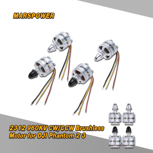 4Pcs MARSPOWER 2312 960KV CW/CCW Brushless Motor for DJI Phantom 2 Vision / Vision + 3 Quadcopter MultirotorToys &amp; Hobbies<br>4Pcs MARSPOWER 2312 960KV CW/CCW Brushless Motor for DJI Phantom 2 Vision / Vision + 3 Quadcopter Multirotor<br>