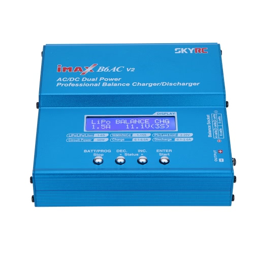 Original SKYRC B6AC V2 50W LiPo LiFe LiIon NiMH NiCd Battery Charger DischargerToys &amp; Hobbies<br>Original SKYRC B6AC V2 50W LiPo LiFe LiIon NiMH NiCd Battery Charger Discharger<br>