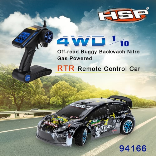 Original HSP 94177 Nitro Powered Off-road Sport Rally Racing 1/10th Scale 4WD RC Car KUTIGER Body with 2.4Ghz 2CH Transmitter RTRToys &amp; Hobbies<br>Original HSP 94177 Nitro Powered Off-road Sport Rally Racing 1/10th Scale 4WD RC Car KUTIGER Body with 2.4Ghz 2CH Transmitter RTR<br>