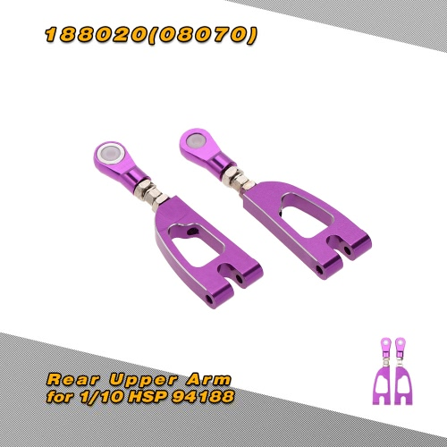 188020(08070) Upgrade Part Aluminum Alloy Rear Upper Arm for 1/10 HSP 4WD 94188 Off Road Monster TruckToys &amp; Hobbies<br>188020(08070) Upgrade Part Aluminum Alloy Rear Upper Arm for 1/10 HSP 4WD 94188 Off Road Monster Truck<br>