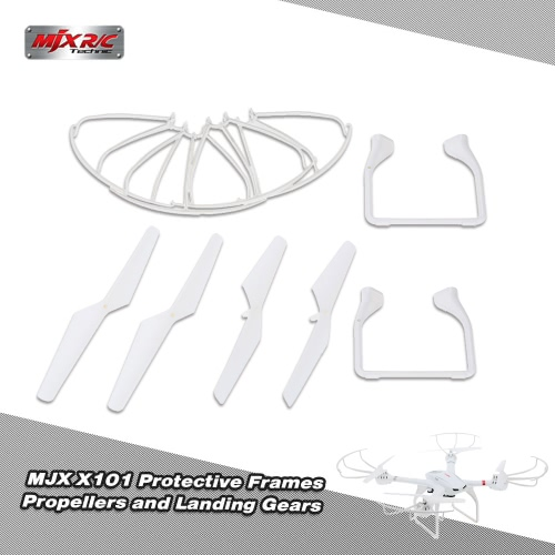 Original MJX X101 Part Landing Gears Protective Frames and Propellers for MJX X101 RC QuadcopterToys &amp; Hobbies<br>Original MJX X101 Part Landing Gears Protective Frames and Propellers for MJX X101 RC Quadcopter<br>
