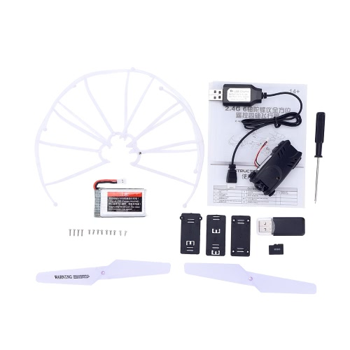 JJRC H5P 2.4G 6 Axis Gyro Headfree One Key Return 3D Roll RC Quadcopter with 2.0MP HD CameraToys &amp; Hobbies<br>JJRC H5P 2.4G 6 Axis Gyro Headfree One Key Return 3D Roll RC Quadcopter with 2.0MP HD Camera<br>