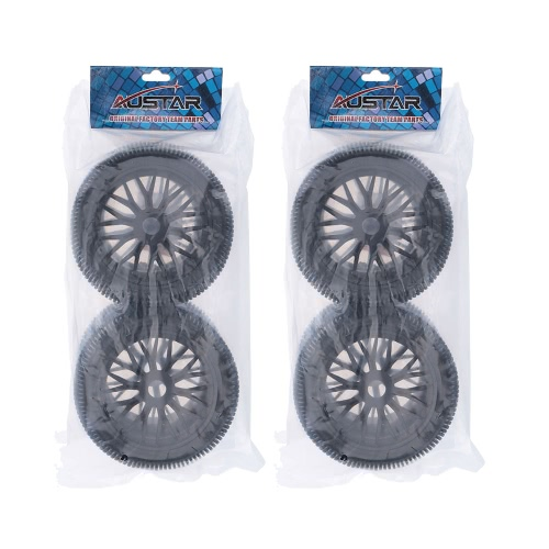 4Pcs Black Wheel Rim and Tire for 1/8 HSP Tamiya Kyosho Off-road RC CarToys &amp; Hobbies<br>4Pcs Black Wheel Rim and Tire for 1/8 HSP Tamiya Kyosho Off-road RC Car<br>