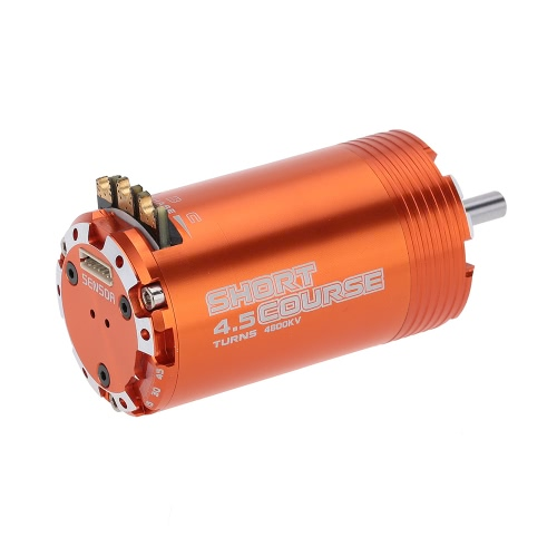 GoolRC 550 4.5T Sensored Brushless Motor for 1/8 1/10 Short Course RC CarToys &amp; Hobbies<br>GoolRC 550 4.5T Sensored Brushless Motor for 1/8 1/10 Short Course RC Car<br>