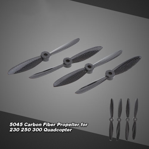 2Pairs 5045 Carbon Fiber Propeller for 230 250 300 QuadcopterToys &amp; Hobbies<br>2Pairs 5045 Carbon Fiber Propeller for 230 250 300 Quadcopter<br>