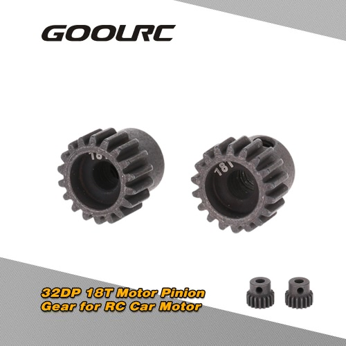 GoolRC 2Pcs 48DP 3.175mm 13T Motor Pinion Gear for RC Car Brushed Brushless MotorToys &amp; Hobbies<br>GoolRC 2Pcs 48DP 3.175mm 13T Motor Pinion Gear for RC Car Brushed Brushless Motor<br>