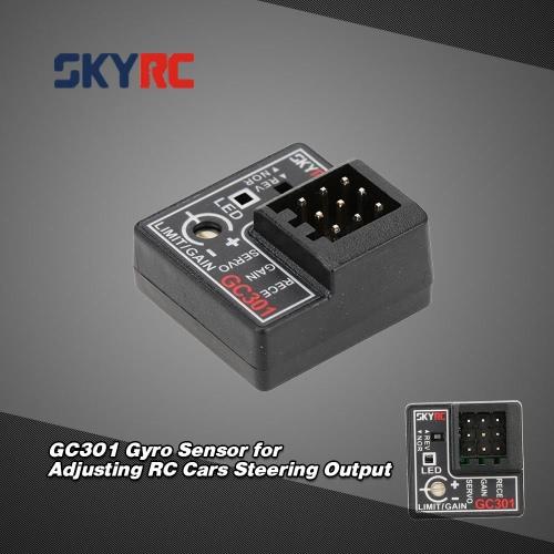 SKYRC GC301 Gyro Sensor for Adjusting RC Cars Steering OutputToys &amp; Hobbies<br>SKYRC GC301 Gyro Sensor for Adjusting RC Cars Steering Output<br>