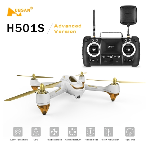 Hubsan X4 H501S H501SS 5.8G FPV  Brushless Advanced Version Drone RC QuadcopterToys &amp; Hobbies<br>Hubsan X4 H501S H501SS 5.8G FPV  Brushless Advanced Version Drone RC Quadcopter<br>