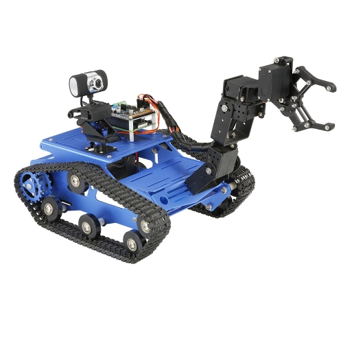 TH Robot Wifi Smart DIY Crawler RC Robot TankToys &amp; Hobbies<br>TH Robot Wifi Smart DIY Crawler RC Robot Tank<br>