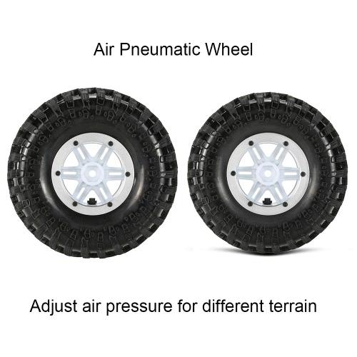 Original Austar AX-3022SR Air Pneumatic Beadlock Wheel Rim and Tire for 1/10 RC4WD D90 Axial SCX10 RC Crawler TruckToys &amp; Hobbies<br>Original Austar AX-3022SR Air Pneumatic Beadlock Wheel Rim and Tire for 1/10 RC4WD D90 Axial SCX10 RC Crawler Truck<br>