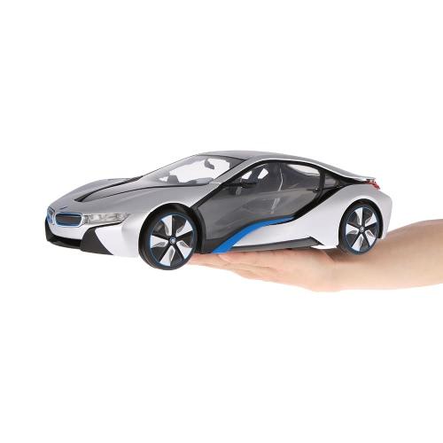 RASTAR 49600-11 27MHz R/C 1/14 BMW I8 with Interior Light Radio Remote Control Sport Racing Model CarToys &amp; Hobbies<br>RASTAR 49600-11 27MHz R/C 1/14 BMW I8 with Interior Light Radio Remote Control Sport Racing Model Car<br>