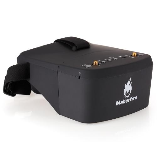 Makerfire EV800D 5.8G 40CH Dual Receiver Double Antenna FPV GogglesToys &amp; Hobbies<br>Makerfire EV800D 5.8G 40CH Dual Receiver Double Antenna FPV Goggles<br>