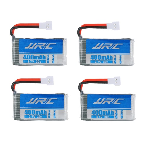 4pcs Original JJRC 3.7V 400mAh 30C Lipo Battery with 4 in 1 Battery Charger for JJRC H31 GoolRC T6 RC QuadcopterToys &amp; Hobbies<br>4pcs Original JJRC 3.7V 400mAh 30C Lipo Battery with 4 in 1 Battery Charger for JJRC H31 GoolRC T6 RC Quadcopter<br>