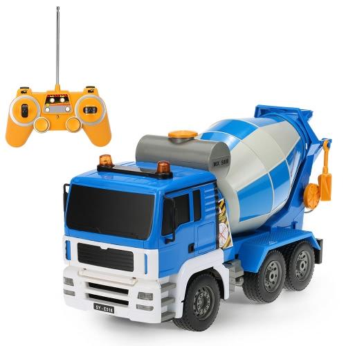 Original Double E E518-003 1:20 27MHz 4WD Cement Concrete Mixer Engineering Truck Model Construction vehicle Toys for ChildrenToys &amp; Hobbies<br>Original Double E E518-003 1:20 27MHz 4WD Cement Concrete Mixer Engineering Truck Model Construction vehicle Toys for Children<br>