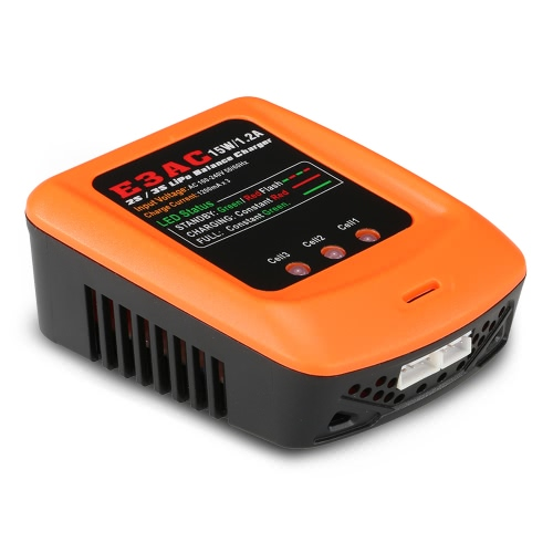 E3AC 15W/1.2A Professional LiPo Balance Charger for 2S/3S LiPo BatteryToys &amp; Hobbies<br>E3AC 15W/1.2A Professional LiPo Balance Charger for 2S/3S LiPo Battery<br>