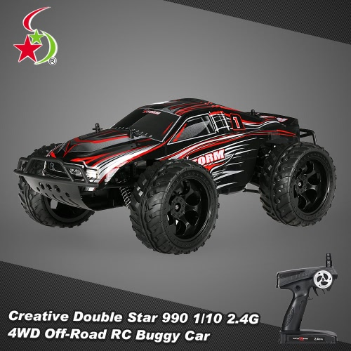 Creative Double Star 990 1/10 2.4G 4WD Rock Crawler Off-road Truggy RC Monster Truck Buggy Car RTRToys &amp; Hobbies<br>Creative Double Star 990 1/10 2.4G 4WD Rock Crawler Off-road Truggy RC Monster Truck Buggy Car RTR<br>