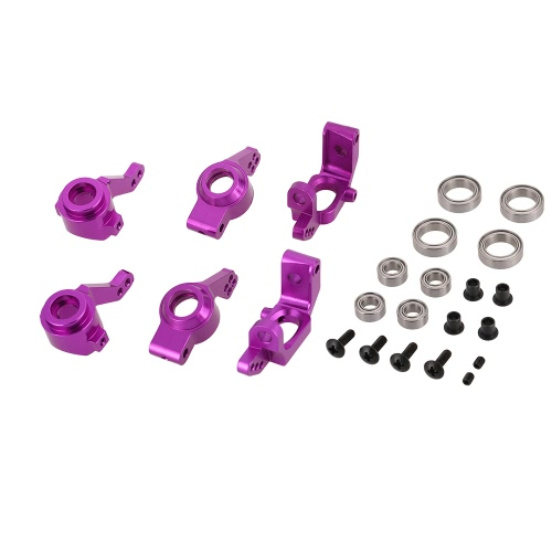 Upgrade Aluminum Steering Hub Mount set 102010 102011 102012 102068 for HSP 1/10 RC Car