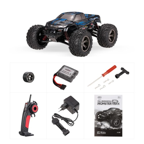 XINLEHONG TOYS 9115 2.4GHz 2WD 1/12 40km/h Electric RTR High Speed Monster Truck RC CarToys &amp; Hobbies<br>XINLEHONG TOYS 9115 2.4GHz 2WD 1/12 40km/h Electric RTR High Speed Monster Truck RC Car<br>