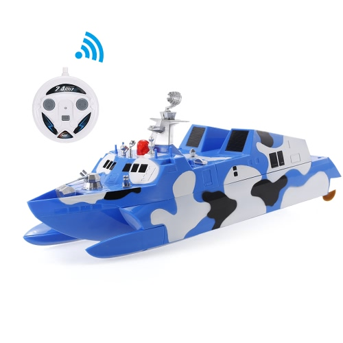 HENG TAI HT-3832 1/275 2.4GHz Radio Control Missile Boat Electric Speedboat Destroyer Military Model Toy Children GiftToys &amp; Hobbies<br>HENG TAI HT-3832 1/275 2.4GHz Radio Control Missile Boat Electric Speedboat Destroyer Military Model Toy Children Gift<br>