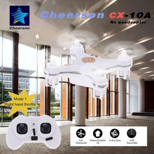 Original Mode 1 Cheerson CX-10A 2.4GHz 4CH RC Quadcopter NANO Drone UFO with Headless Mode FunctionToys &amp; Hobbies<br>Original Mode 1 Cheerson CX-10A 2.4GHz 4CH RC Quadcopter NANO Drone UFO with Headless Mode Function<br>