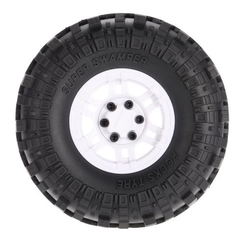 4Pcs AUSTAR AX-4020A 1.9 Inch 110mm 1/10 Rock Crawler Tires with Alloy Beadlock Wheel Rim for D90 SCX10 AXAIL RC4WD TF2 RC CarToys &amp; Hobbies<br>4Pcs AUSTAR AX-4020A 1.9 Inch 110mm 1/10 Rock Crawler Tires with Alloy Beadlock Wheel Rim for D90 SCX10 AXAIL RC4WD TF2 RC Car<br>