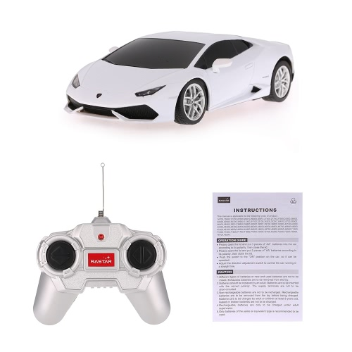 RASTAR 71500 27MHz R/C 1/24 Lamborghini HURACAN LP 610-4 Radio Remote Control Model CarToys &amp; Hobbies<br>RASTAR 71500 27MHz R/C 1/24 Lamborghini HURACAN LP 610-4 Radio Remote Control Model Car<br>