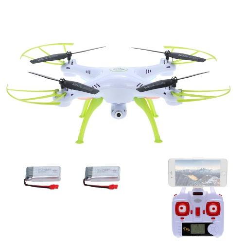 Original SYMA X5HW 0.3MP Camera Wifi FPV Drone Height Hold CF Mode RC Quadcopter with One Extra Battery RTFToys &amp; Hobbies<br>Original SYMA X5HW 0.3MP Camera Wifi FPV Drone Height Hold CF Mode RC Quadcopter with One Extra Battery RTF<br>