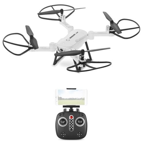 GoolRC T32 Wifi FPV 720P HD Camera 2.4G 4CH 6-Axis Gyro Foldable RC Quadcopter Height Hold G-Sensor Selfie Drone RTFToys &amp; Hobbies<br>GoolRC T32 Wifi FPV 720P HD Camera 2.4G 4CH 6-Axis Gyro Foldable RC Quadcopter Height Hold G-Sensor Selfie Drone RTF<br>