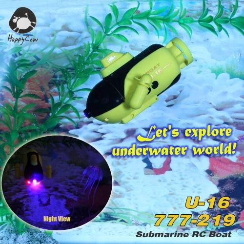 HappyCow U-16 777-219 Radio Control Submarine RC BoatToys &amp; Hobbies<br>HappyCow U-16 777-219 Radio Control Submarine RC Boat<br>