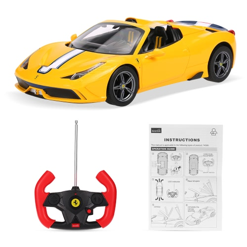 Original Rastar 74500 1/14 Ferrari 458 Speciale A Convertible Version Drift RC CarToys &amp; Hobbies<br>Original Rastar 74500 1/14 Ferrari 458 Speciale A Convertible Version Drift RC Car<br>