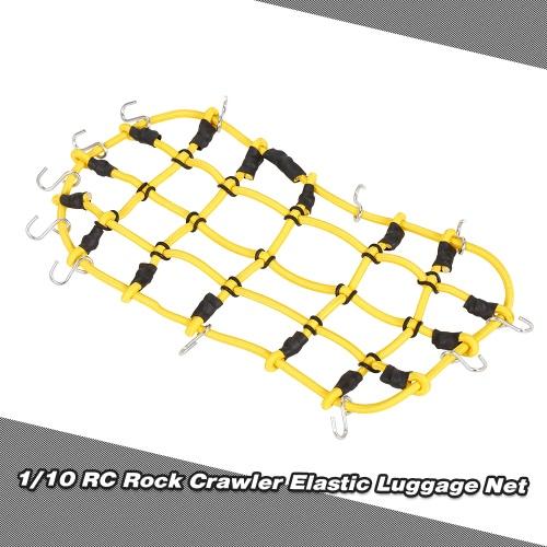 1/10 RC Rock Crawler Elastic Luggage Net for Axial SCX10 90046 Tamiya CC01 RC4WD D90 D110 Traxxas TRX-4 RC CarToys &amp; Hobbies<br>1/10 RC Rock Crawler Elastic Luggage Net for Axial SCX10 90046 Tamiya CC01 RC4WD D90 D110 Traxxas TRX-4 RC Car<br>