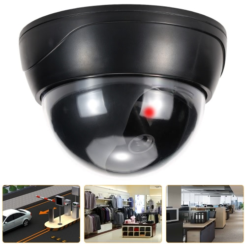Simulation Dome Camera Red LED Blinking Light Fake Dummy CCTV Security System for House Office MarketSmart Device &amp; Safety<br>Simulation Dome Camera Red LED Blinking Light Fake Dummy CCTV Security System for House Office Market<br>