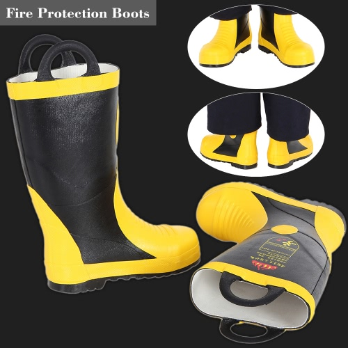Portable Fire Fighting Boots Fireproof Waterproof Chemical Proof Electrical Proof Anti Puncture Fire Protection EquipmentSmart Device &amp; Safety<br>Portable Fire Fighting Boots Fireproof Waterproof Chemical Proof Electrical Proof Anti Puncture Fire Protection Equipment<br>