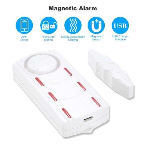 Intelligent Audible Visual Magnetic AlarmSmart Device &amp; Safety<br>Intelligent Audible Visual Magnetic Alarm<br>