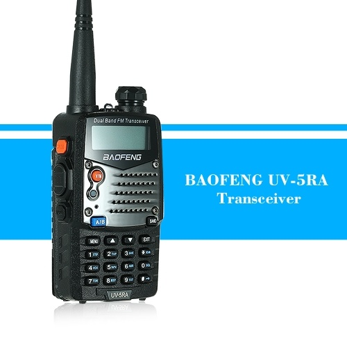 BAOFENG UV-5RA Two-Way Radio Interphone Walkie Talkie Transceiver