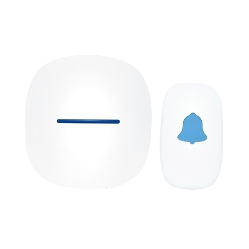 Wireless Doorbell with 1 Push Button 1 Receiver Home Smart Doorbell