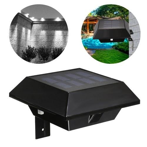 Lampe solaire de clôture solaire à 12 LED