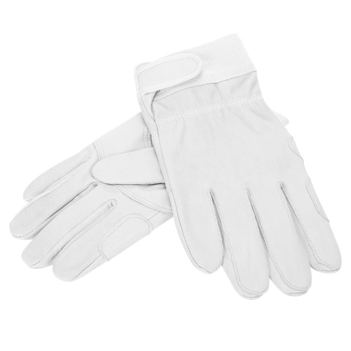 Protective Leather Gloves Waterproof Heat-Resistant Flame-retardant Cut-resistant Gloves for Builders Sanitation Workers PortersSmart Device &amp; Safety<br>Protective Leather Gloves Waterproof Heat-Resistant Flame-retardant Cut-resistant Gloves for Builders Sanitation Workers Porters<br>