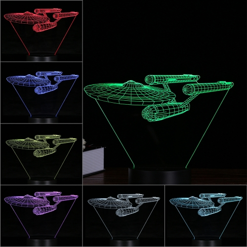 Creative 3D LED Illusion Colorful Table Night Light with Remote ControlSmart Device &amp; Safety<br>Creative 3D LED Illusion Colorful Table Night Light with Remote Control<br>