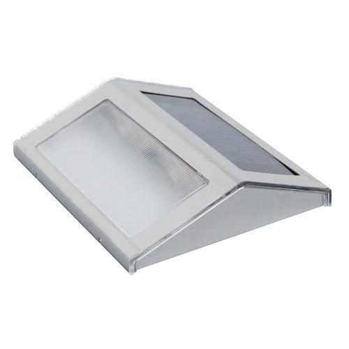 2PCS mur solaire capteur lumières de nuit capteur de lumière d'économie d'énergie capteur de lumière
