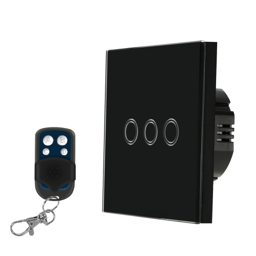 EU/UK Standard Smart Remote Control Wall Touch SwitchSmart Device &amp; Safety<br>EU/UK Standard Smart Remote Control Wall Touch Switch<br>