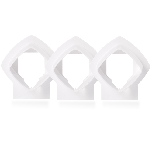 Wall Mount Bracket Stand Holder for Linksys Velop Tri-band Whole Home WiFi Mesh System, White 3 PackSmart Device &amp; Safety<br>Wall Mount Bracket Stand Holder for Linksys Velop Tri-band Whole Home WiFi Mesh System, White 3 Pack<br>