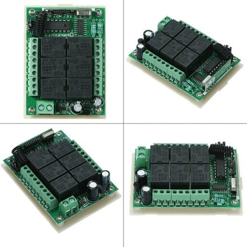433Mhz DC 12V 10A Relay Wireless RF Remote Control Switch