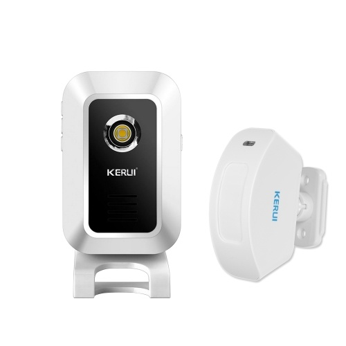 KERUI M7 433MHz Smart Doorbell Wireless Shop Store Welcome Door Entry Chime Night-Light