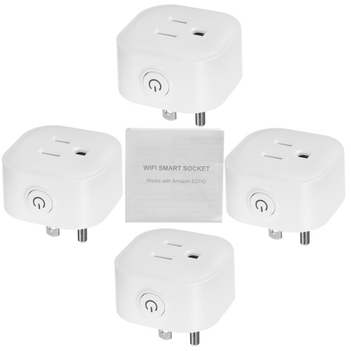 Mini Wifi Smart Socket with Energy Monitoring Function